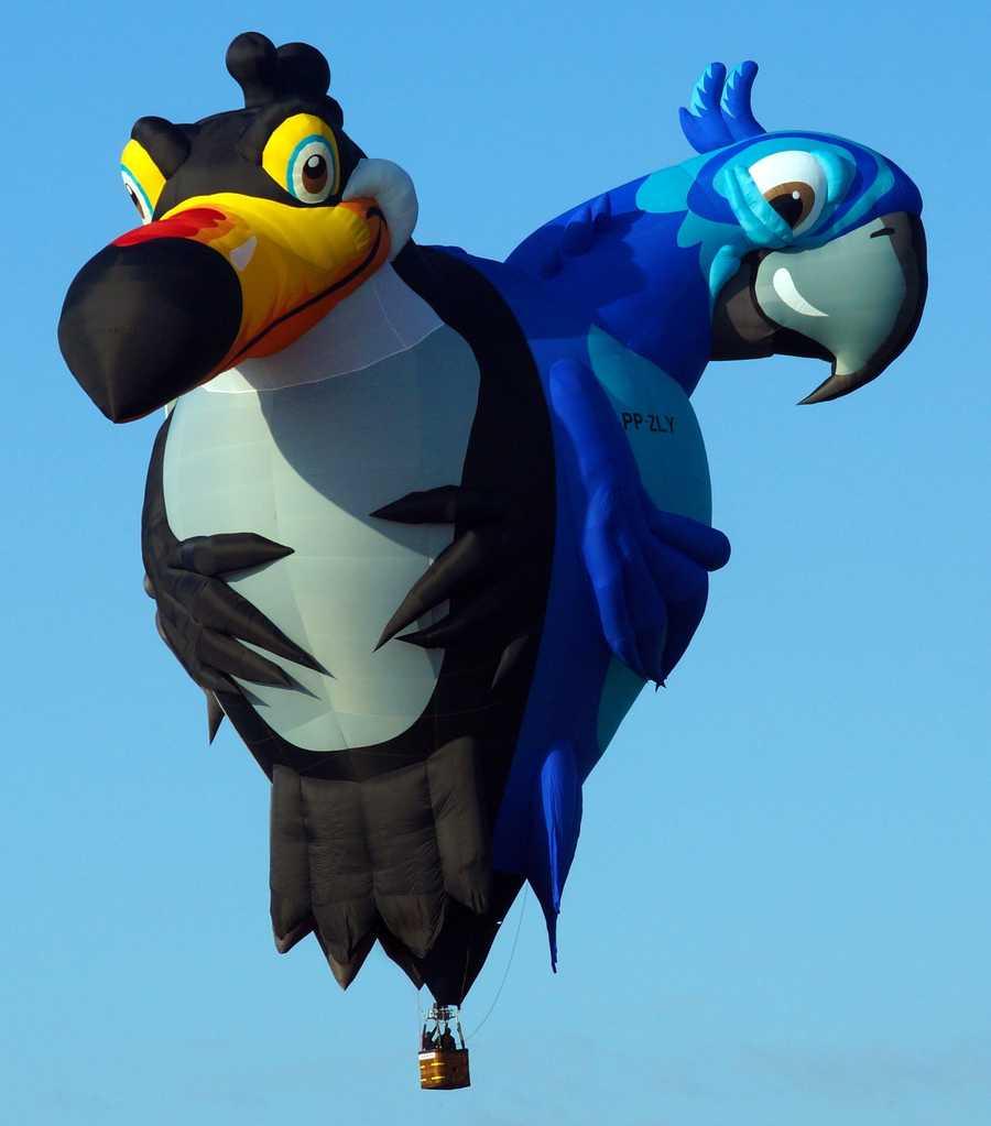 TriBirds (Courtesy Albuquerque International Balloon Fiesta)