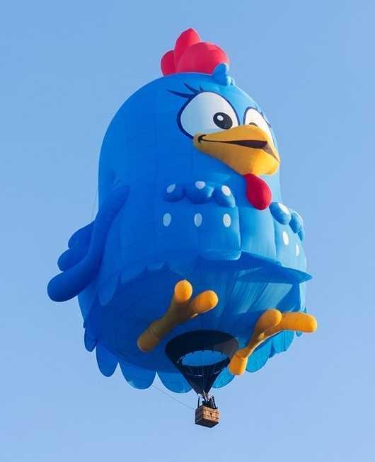 Lottie Dottie Chicken (Courtesy Albuquerque International Balloon Fiesta)