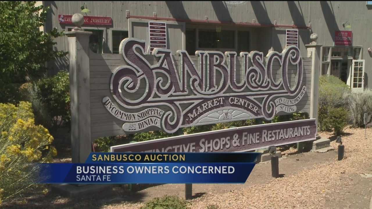 The Sanbusco Market center is home to a number of businesses and has been around for decades, but it could all be gone very soon.