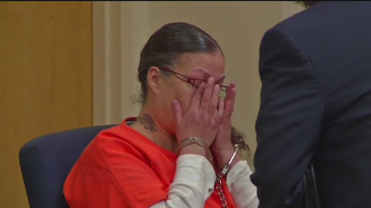The woman accused of stomping and punching her 9-year-old son to death is competent to stand trial.