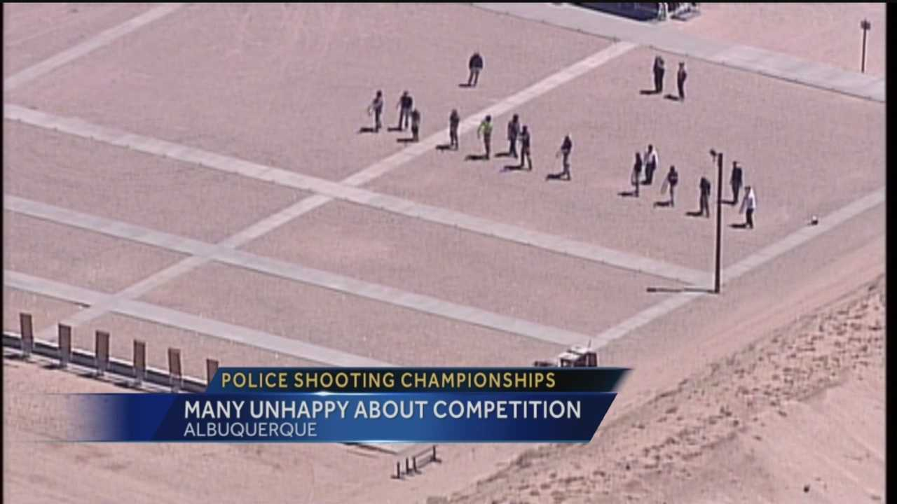 Many residents are displeased with the city hosting the Annual National Police Shooting Competition