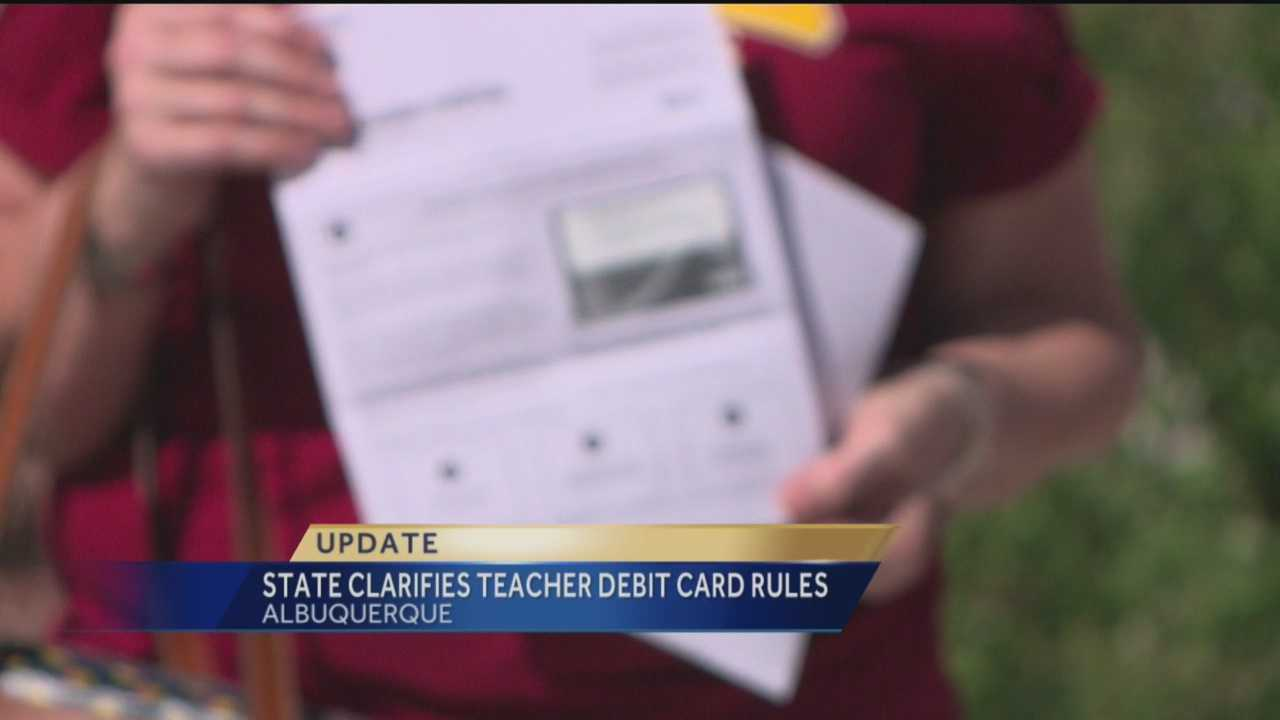 There's been resistance among New Mexico teachers after the state announced it would give them 100 dollar debit cards.