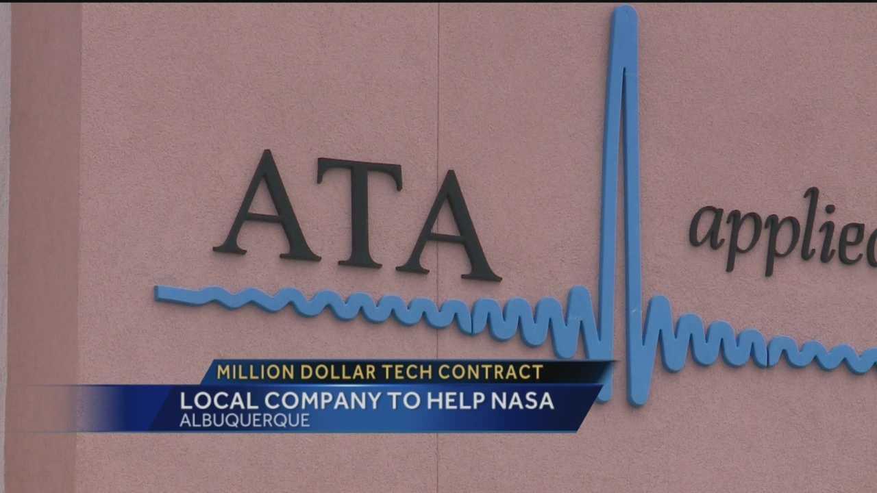 Albuquerque's ATA Aerospace has landed a massive deal with NASA.
