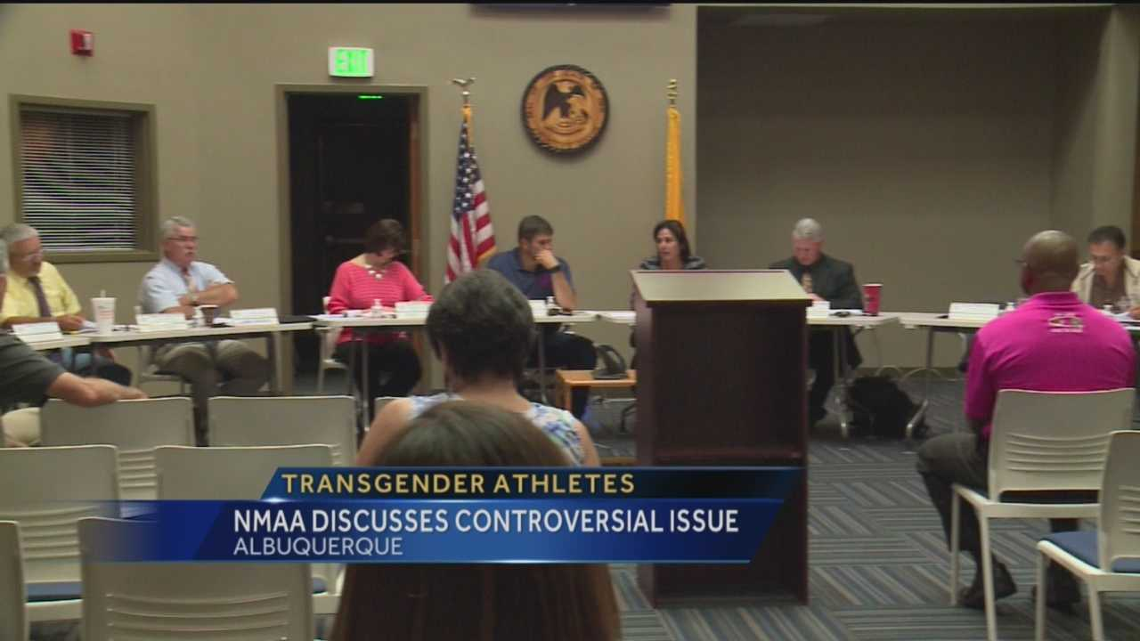 The New Mexico Activities Association is taking on the controversial issue of transgender athletes.
