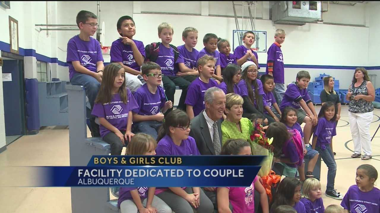 The Boys and Girls Club honored a local couple Wednesday.