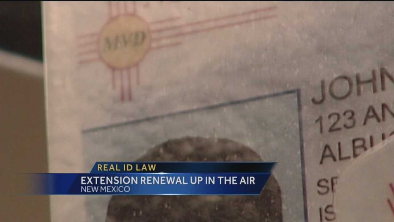 It's a battle New Mexico's been fighting for years. Now, with just weeks to go before the deadline, our state is still not compliant with the Real ID law.