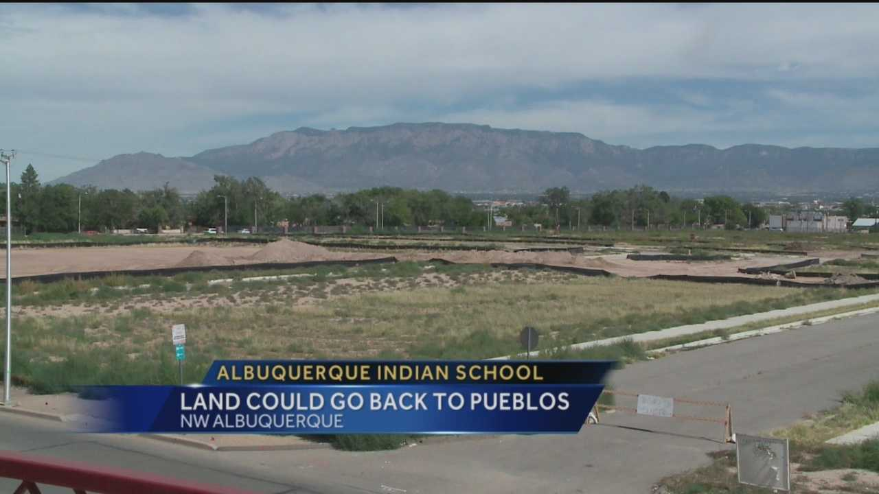 The old Albuquerque Indian School lot could soon be getting a makeover.