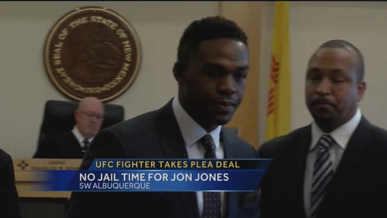 A former UFC champion who lives and trains in Albuquerque avoided the big knockout punch in court today.
