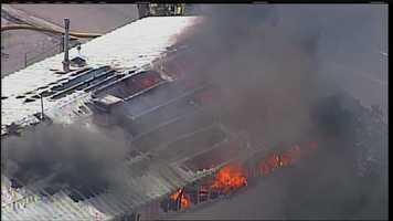 PHOTOS: Crews battle structure fire