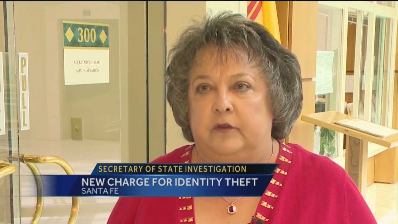 A high-ranking New Mexico official charged with dozens of counts related to alleged campaign finance fraud is now facing allegations of identity theft, a fourth-degree felony.