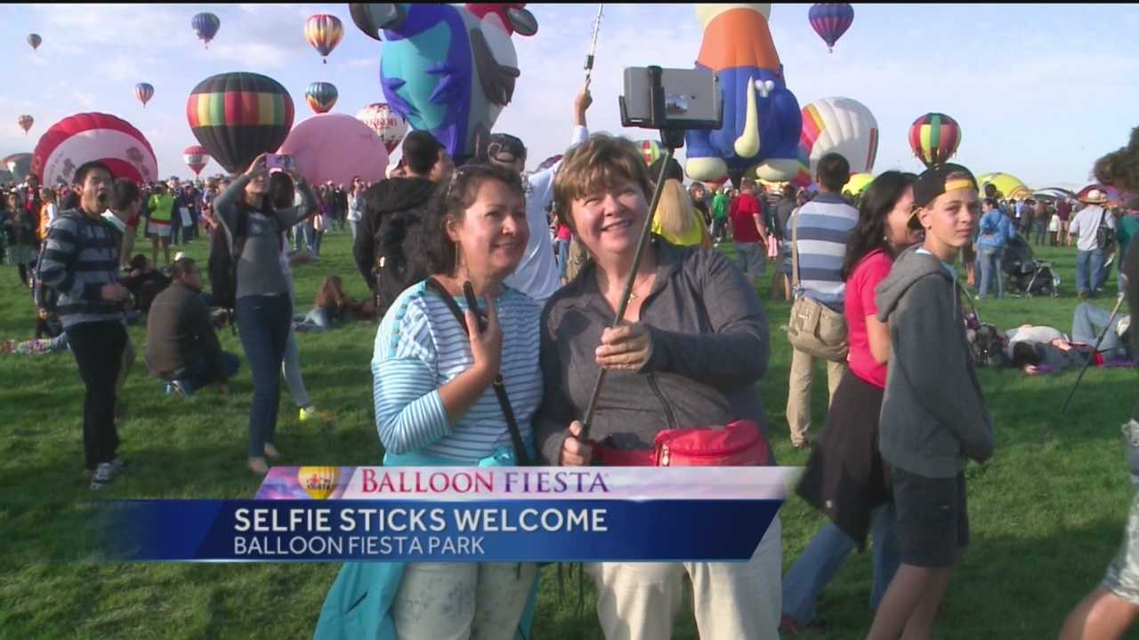 With perfect weather for the kickoff of Balloon Fiesta, those attending the event were picture ready.