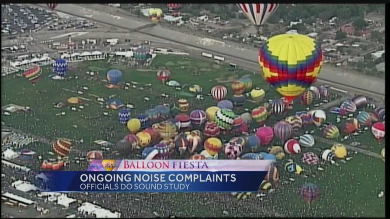Balloon Fiesta Noise Complaints