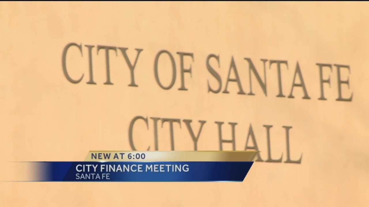 The city of Santa Fe's Finance Committee met Monday.