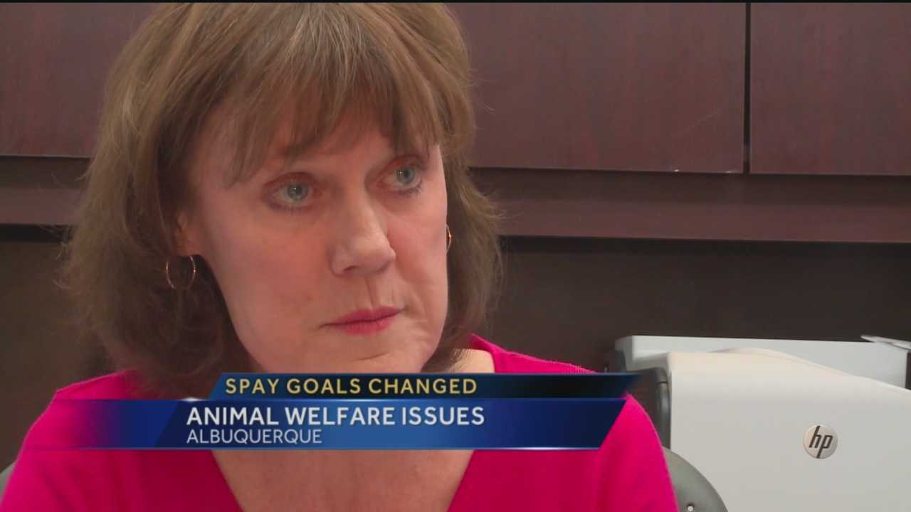 A former director of the city's Animal Welfare Department altered the department's goals when it came to decreasing the pet population, according to the city, but she maintains it was an unintentional mistake.