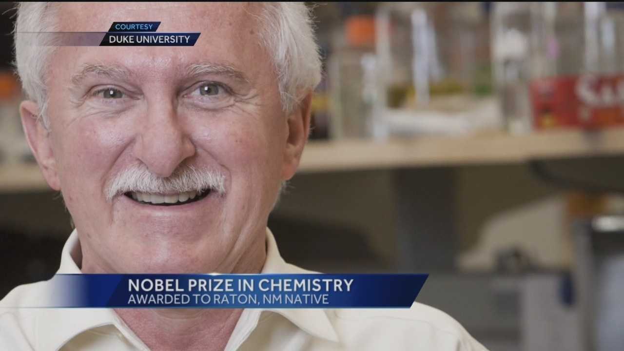 Three scientists, including one who was born and raised in Raton, won the the Nobel Prize in chemistry Wednesday.