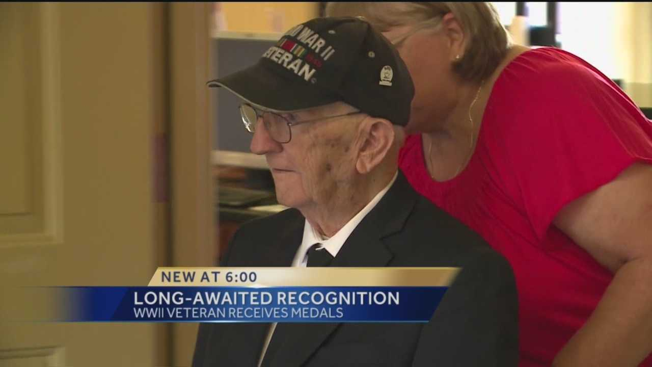 "It was a surprise to 90-year-old Marlin ""Temp"" Templeton. He had no idea Friday's celebration was all for him."