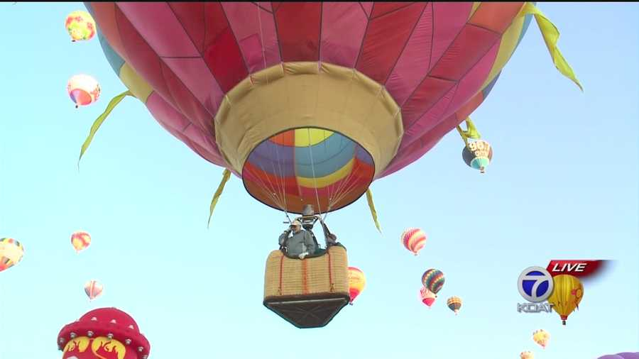 Check out these awesome shots of Saturday's Balloon Fiesta.