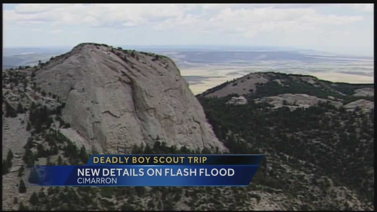 A situation turned deadly earlier this year when a wall of water swept tents away in northern New Mexico.