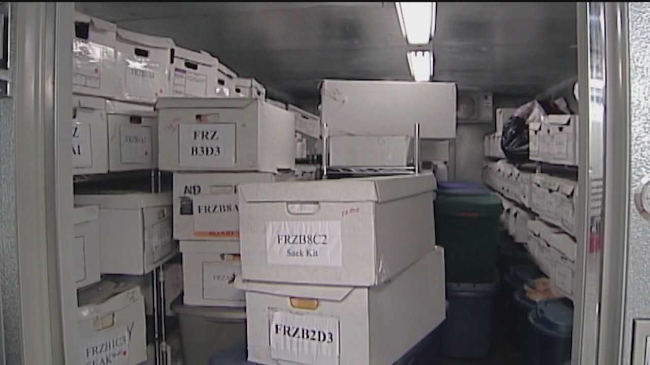 Rape kits are sitting in crime labs across the state waiting to be processed.