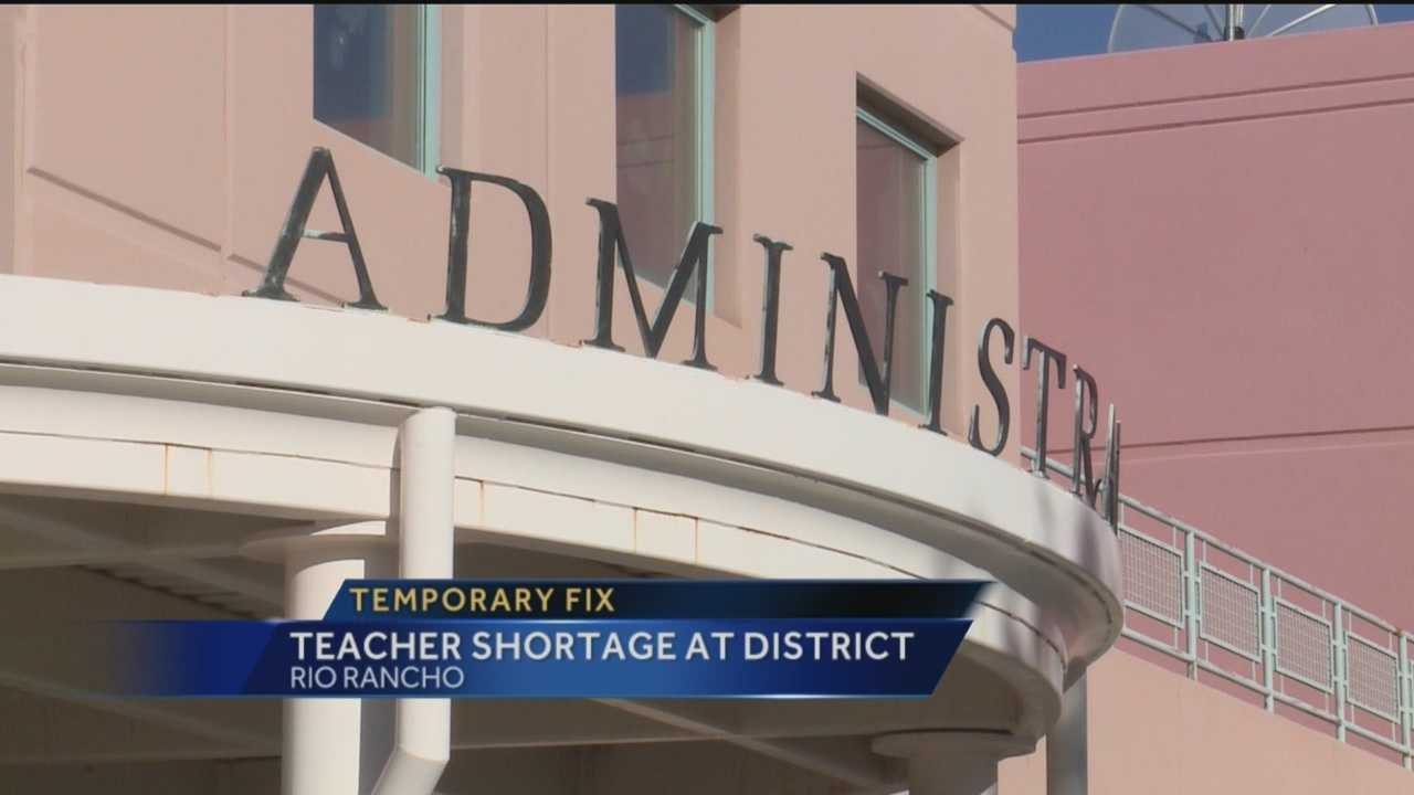Rio Rancho schools says it's finally caught up on hiring enough teachers.