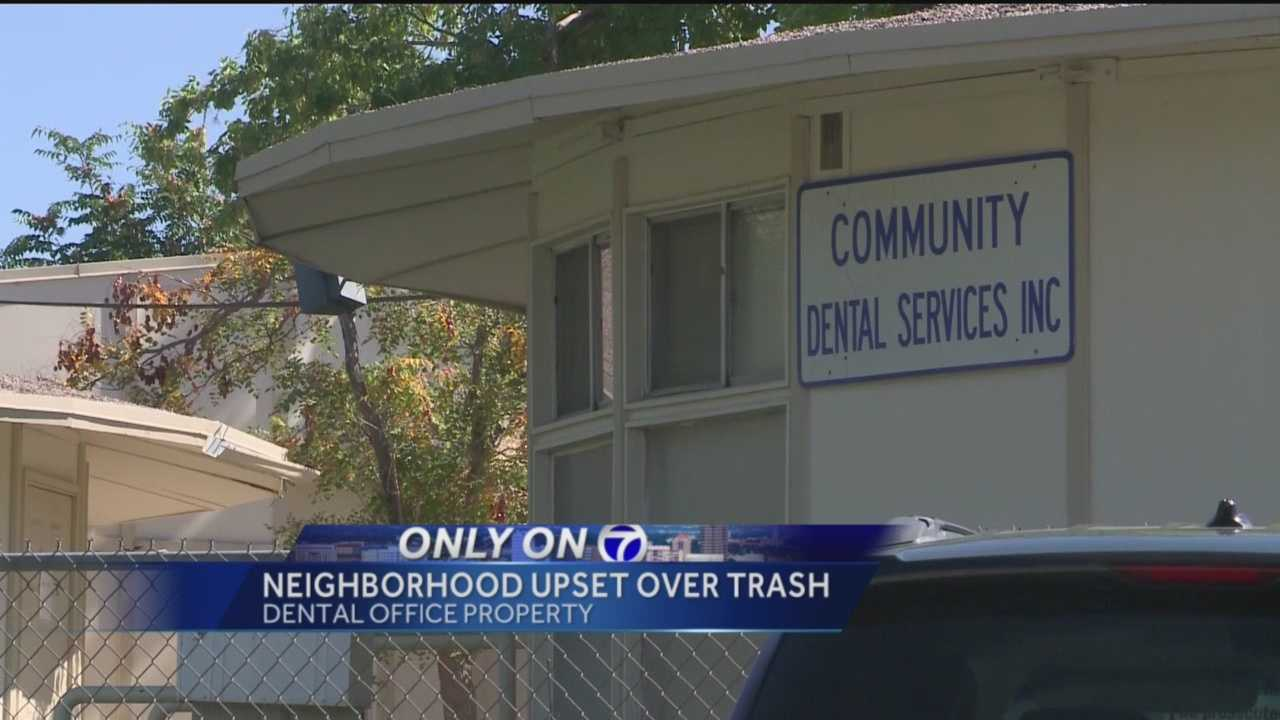 Litter in one Albuquerque neighborhood has become a problem for some residents.