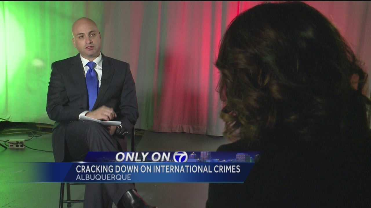 Criminals know no boundaries, and that's why Attorney General Hector Balderas is taking aim at the border.