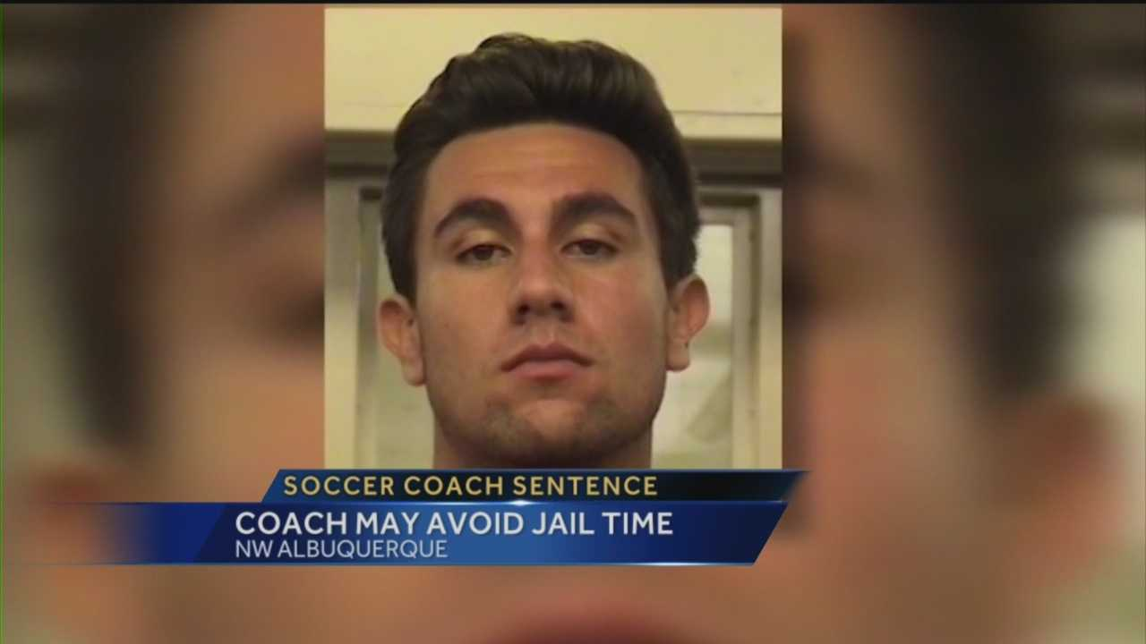 Former Albuquerque Academy soccer coach Cory Lucero was sentenced Tuesday in connection with a deadly hit-and-run accident.