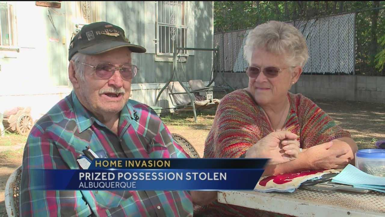 A home invasion robbed a family of their sense of security, and their most prized possession.