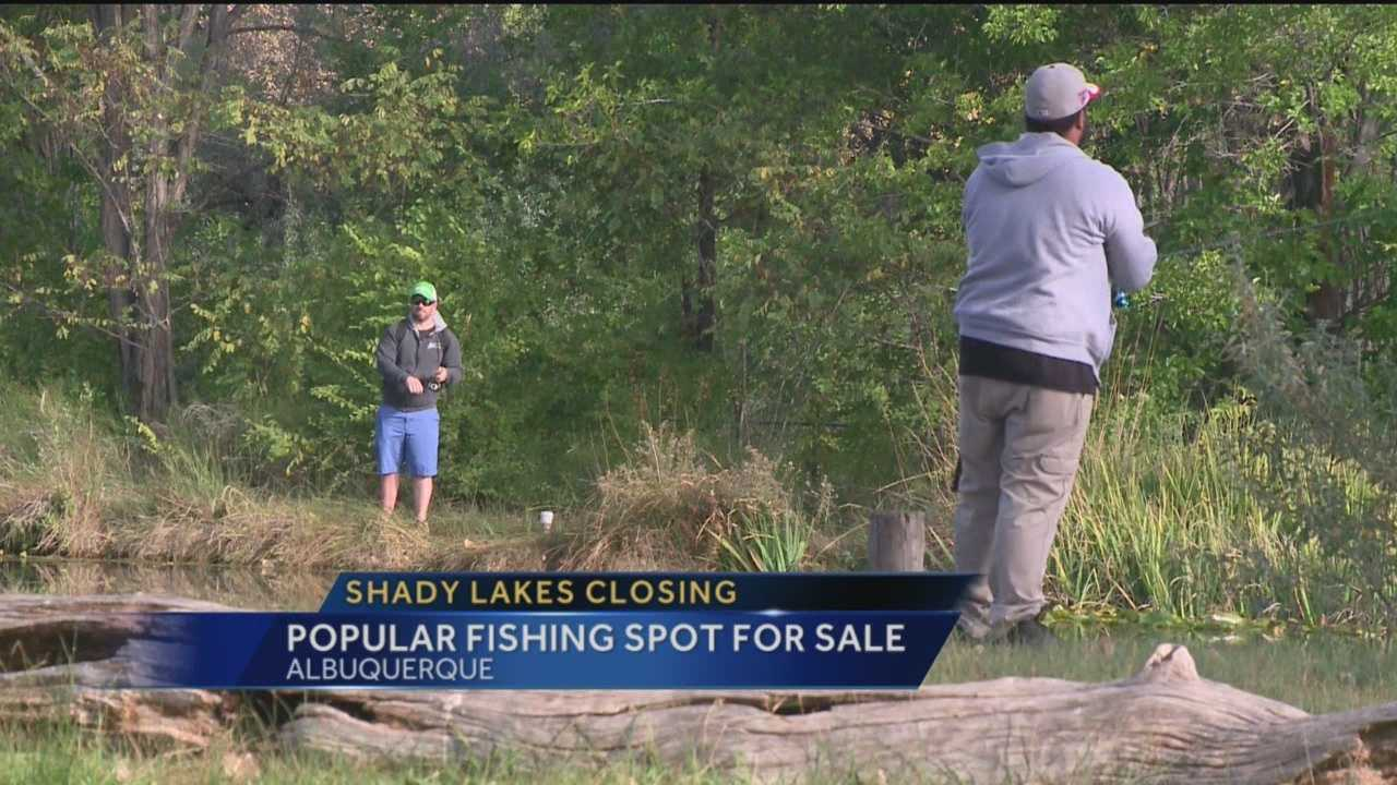 The owners of shady lakes are putting the property up for sale.