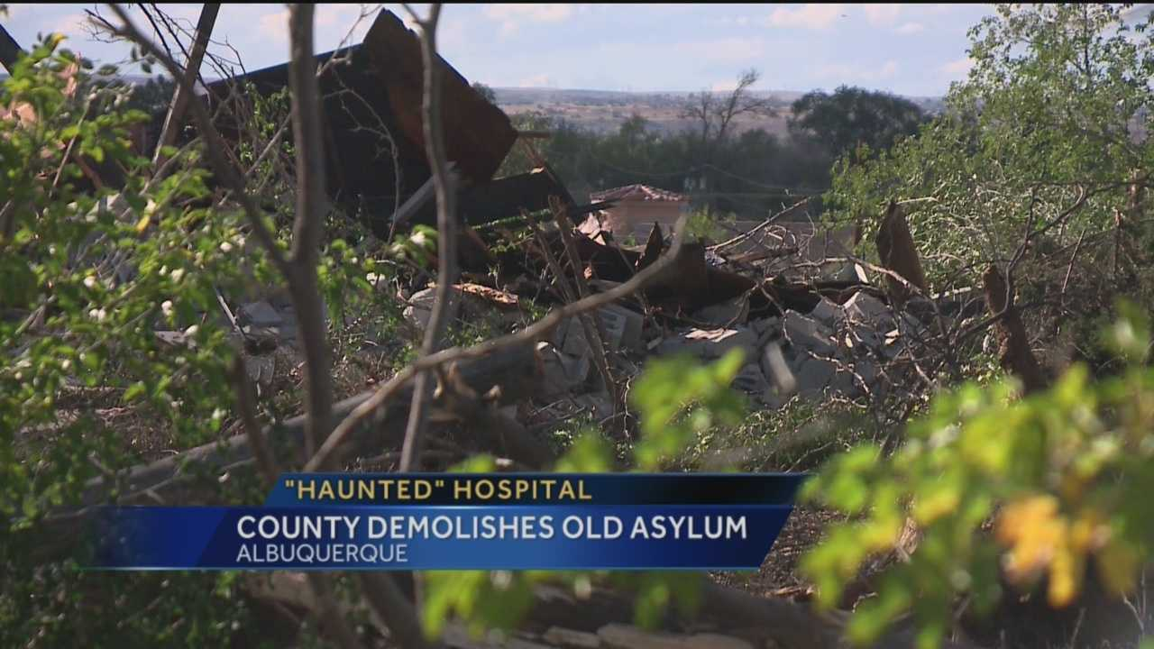 Some locals claim an old insane asylum in Albuquerque's North Valley is haunted, and neighbors say its a big problem. Now Bernalillo county has bought the property and big changes are coming soon.