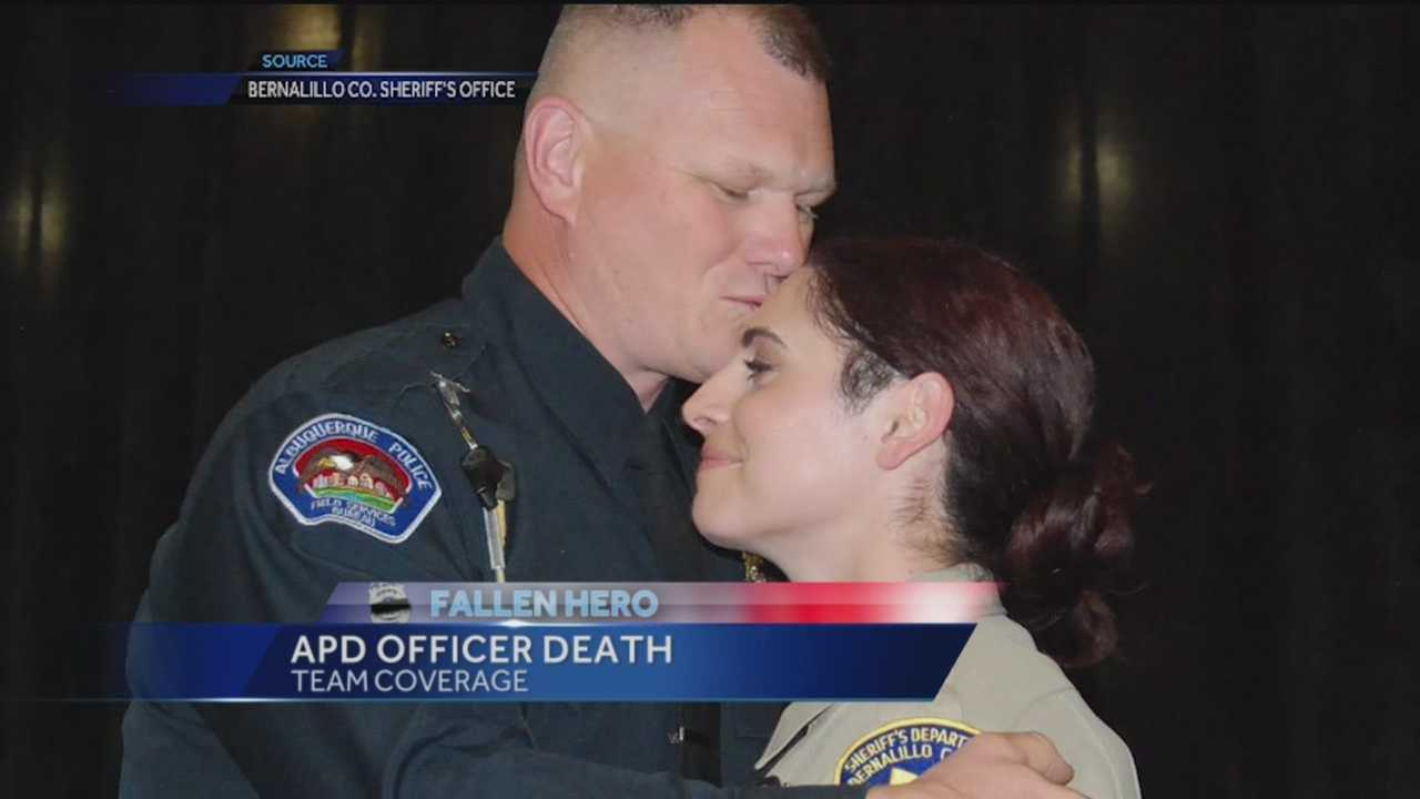 An Albuquerque police officer and 20-year U.S. Army veteran has succumbed to injuries sustained during a traffic stop shooting last week.