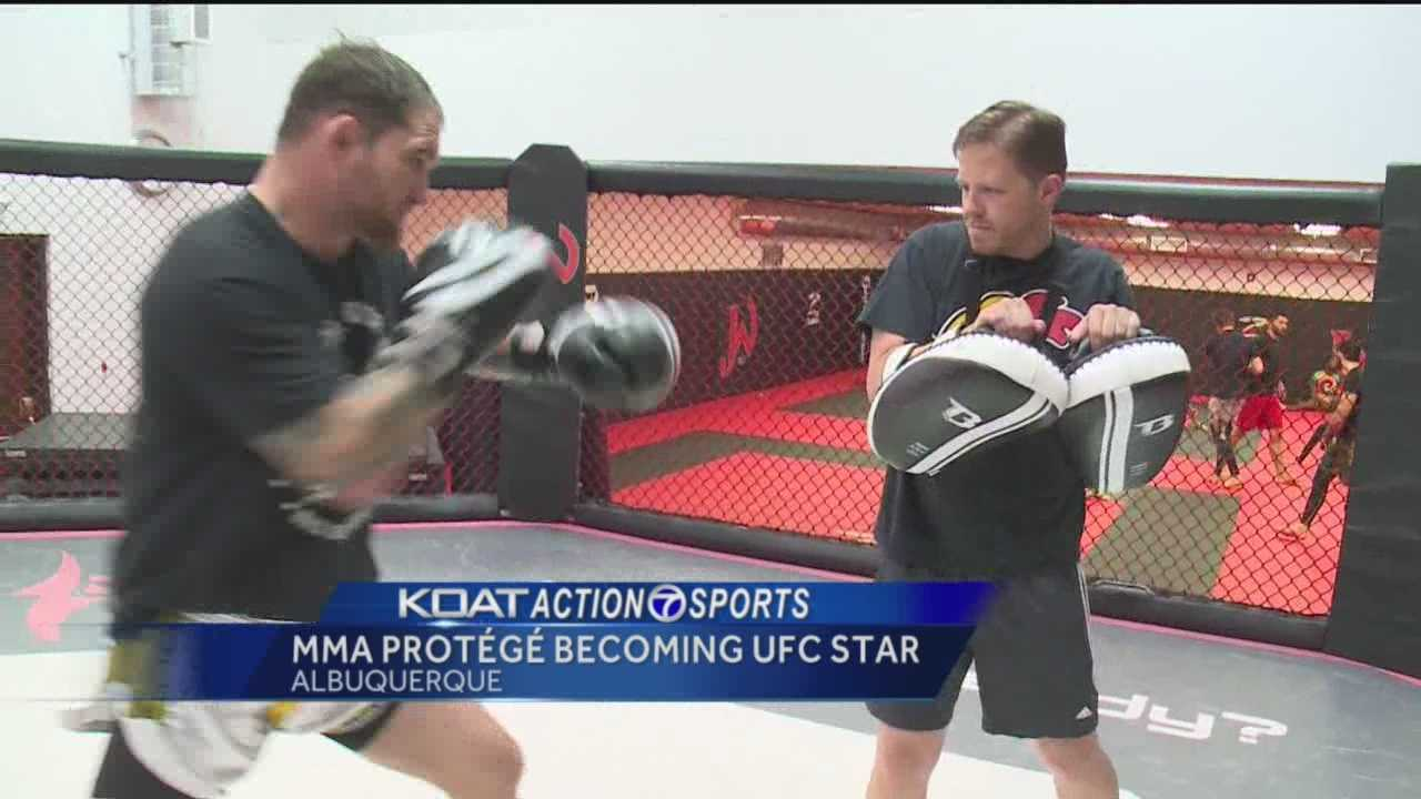 Action 7 Sports Director Orlando Sanchez introduces us to a rising star in mixed martial arts.