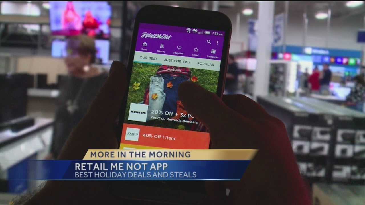 The RetailMeNot app can be downloaded from iTunes and Google Play.
