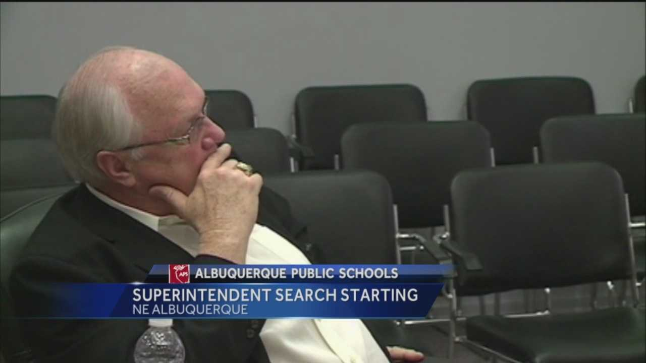 The Albuquerque Public School Board will be taking its first step this week to find a new superintendent.