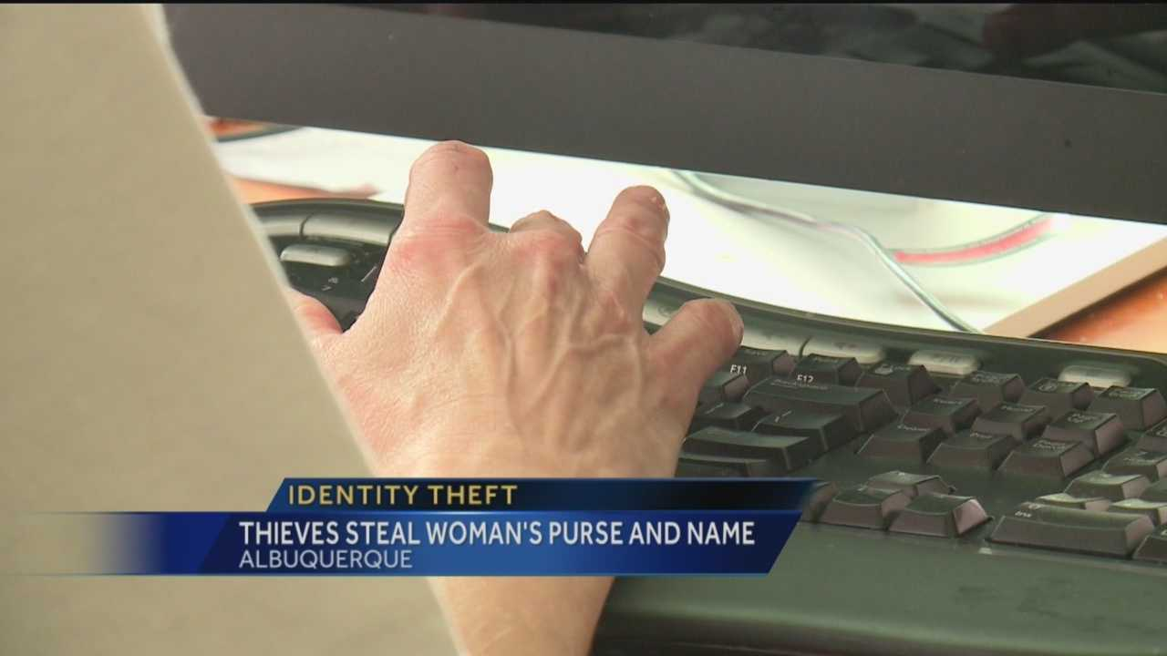 Thieves broke into a University of New Mexico student's car in January, making off with her identity. They nabbed her driver's license, credit cards and Social Security card.