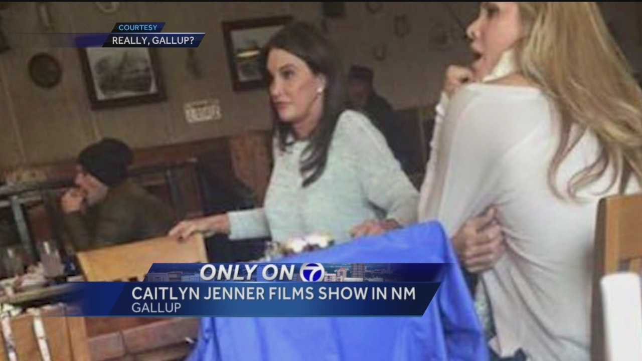 It was your typical Wednesday afternoon in Gallup -- that is until a celebrity walked into a local restaurant.