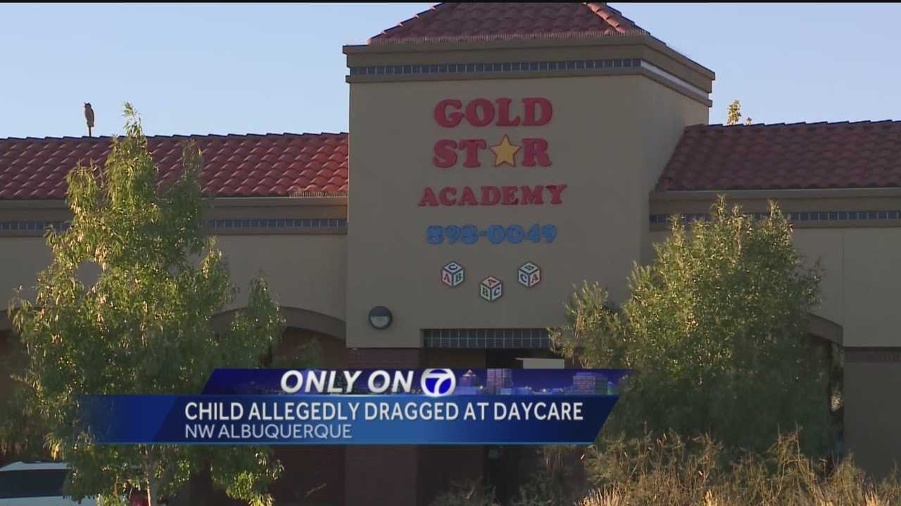 Another day care is being investigated by the state after one mother says she saw a worker dragging a little boy across the floor.
