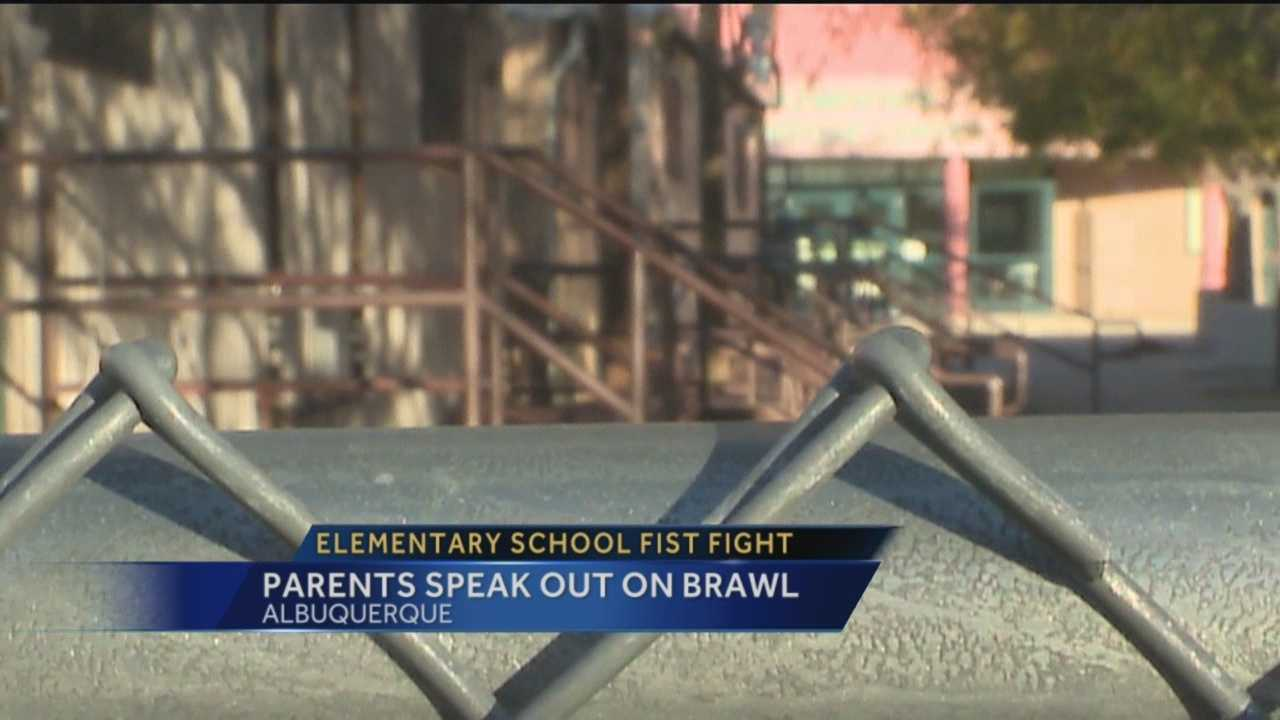 We're learning a lot more about a school brawl between two parents.