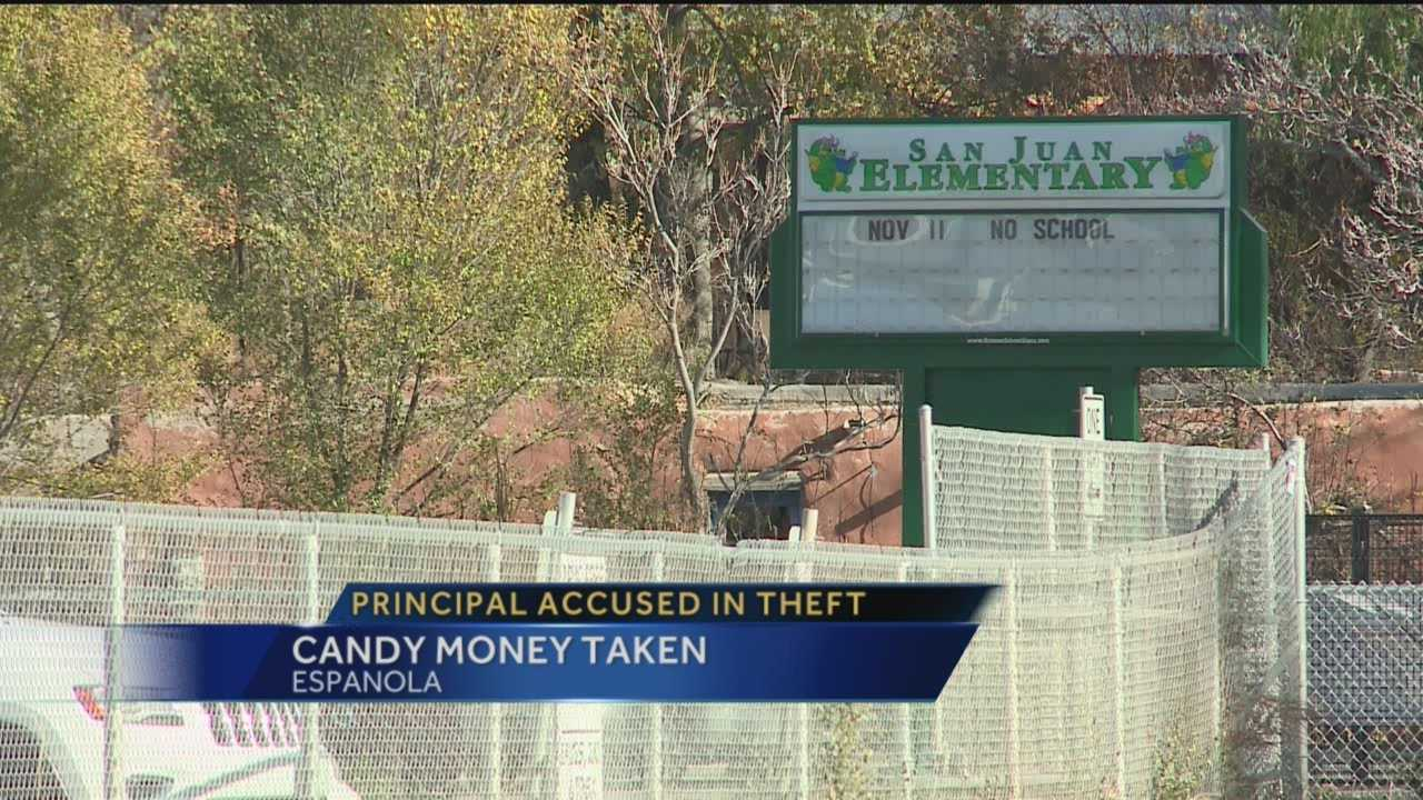 Principal accused in theft: Candy money taken