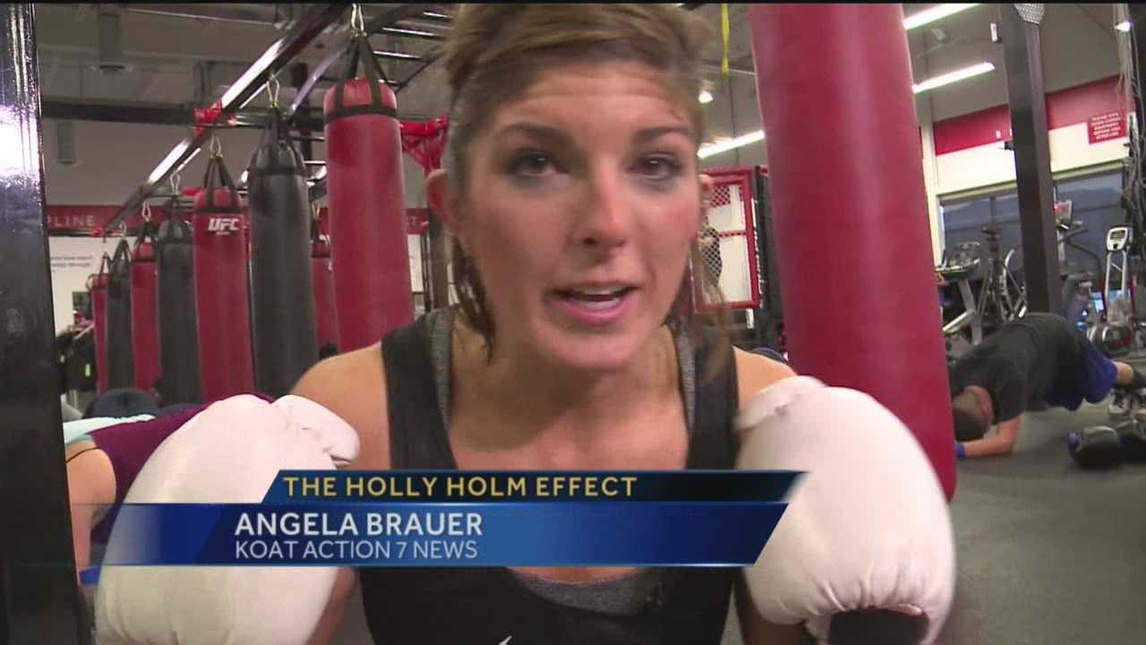 Many in New Mexico are counting down the days until Albuquerque's Holly Holm takes on Ronda Rousey.