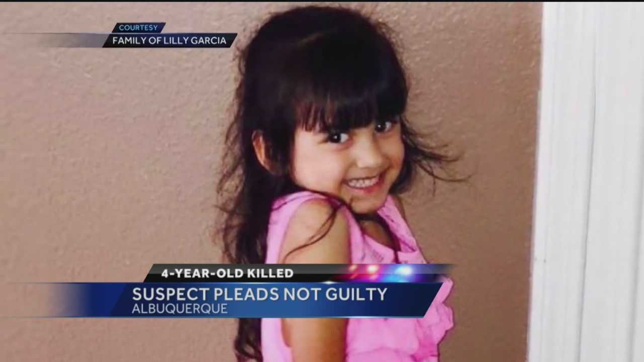 The man accused of shooting and killing 4-year-old girl during a road rage incident pleaded not guilty in court Friday.