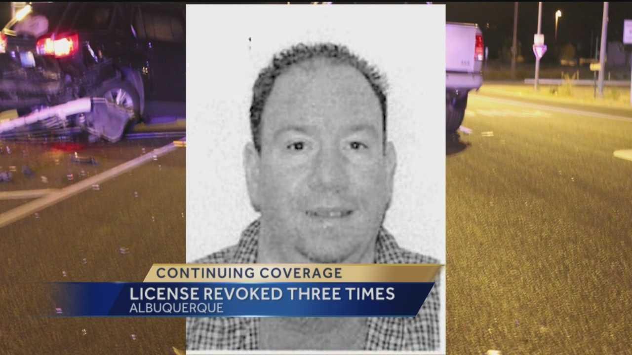 License revoked three times