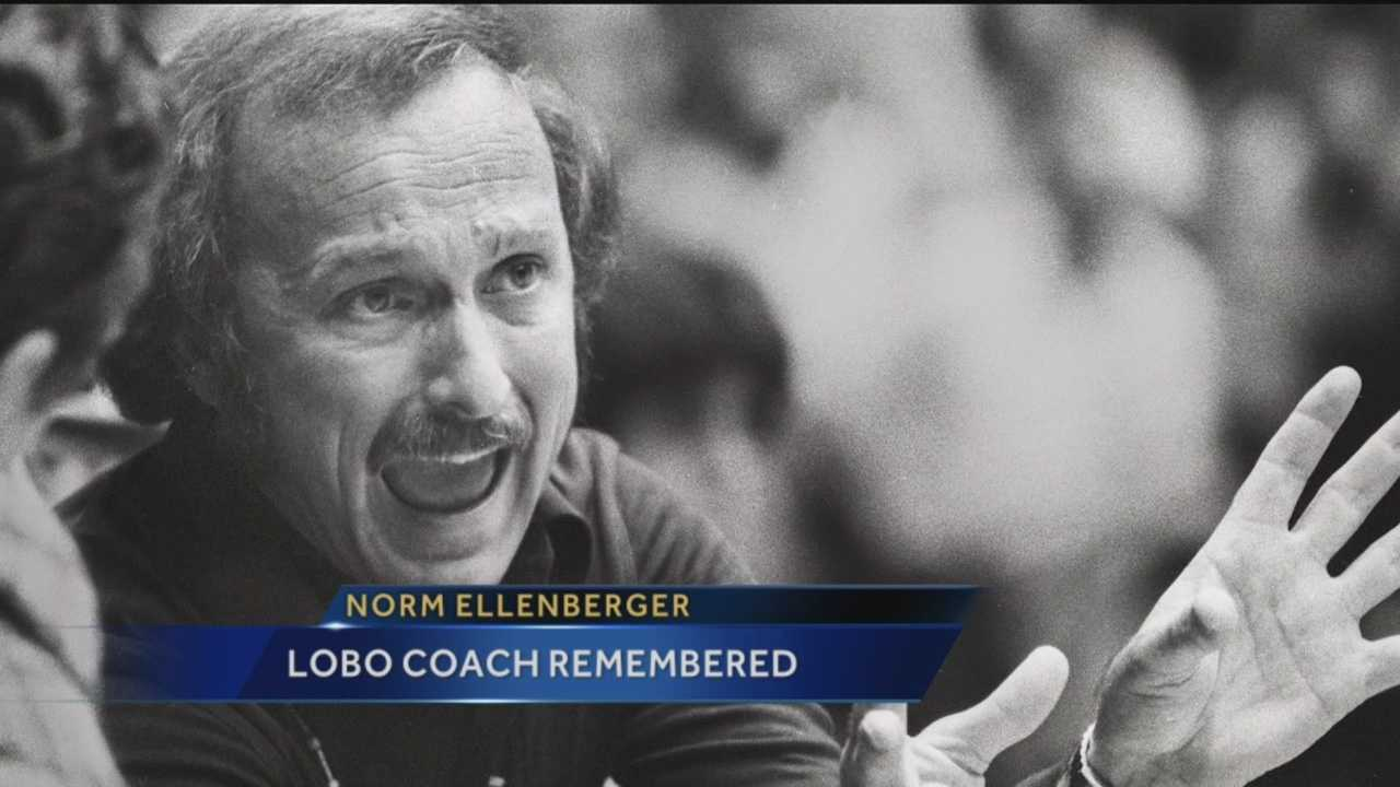 Friends and colleagues of iconic University of New Mexico basketball coach Norm Ellenberger are remembering his legacy.