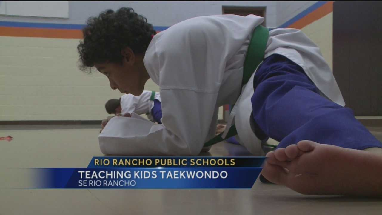 One are school district is using the ancient Korean martial art of Taekwondo to teach its students to fight back against bullies.