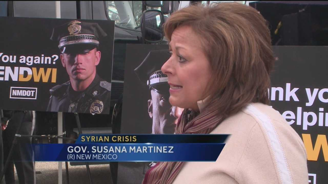 For New Mexico Gov. Susana Martinez, it's an issue of state security.