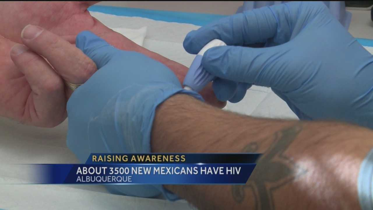 At least 32 New Mexicans learned they were HIV positive in the past nine months.