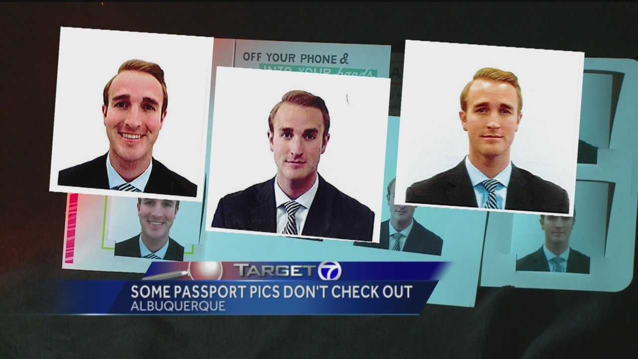 There's a run on passports in New Mexico right now, but getting one is a long process. Getting your picture taken seems like an easy process, but it could slow you down the most.