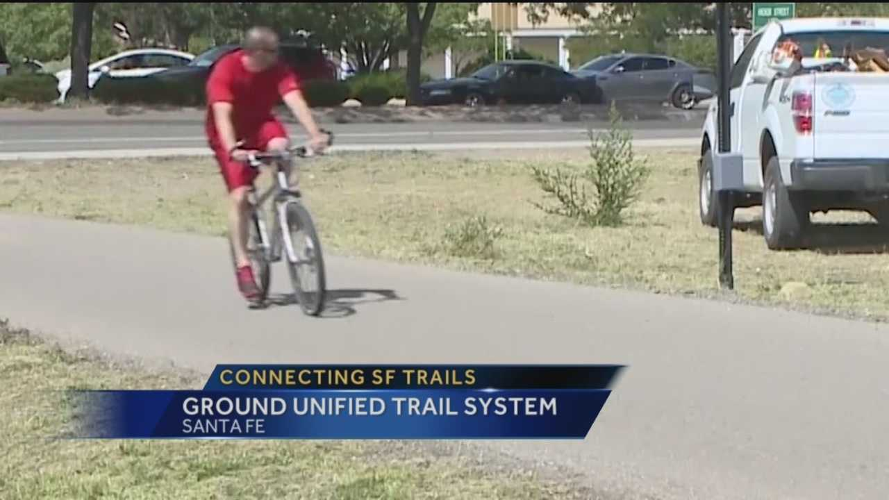 Santa Fe wants to make it easier for runners and cyclists to get around the city, by looping the trails together.