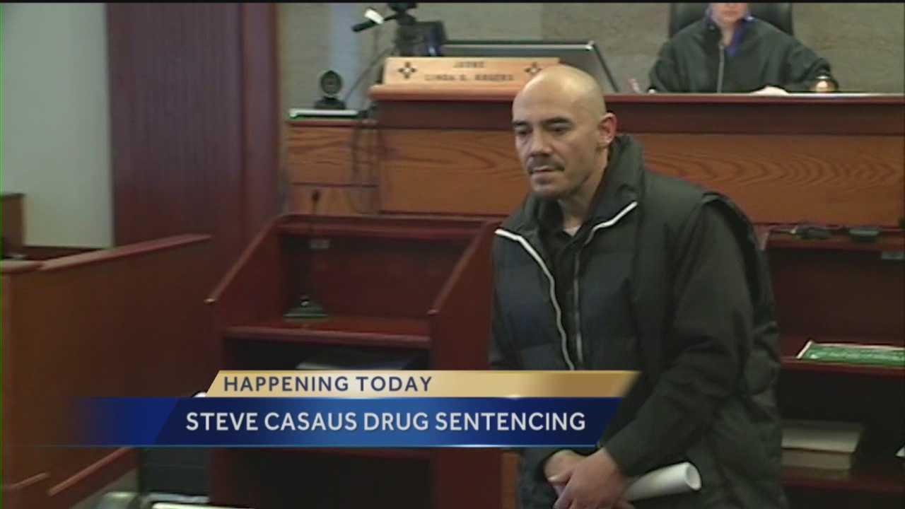 Steve Casaus Drug Sentencing
