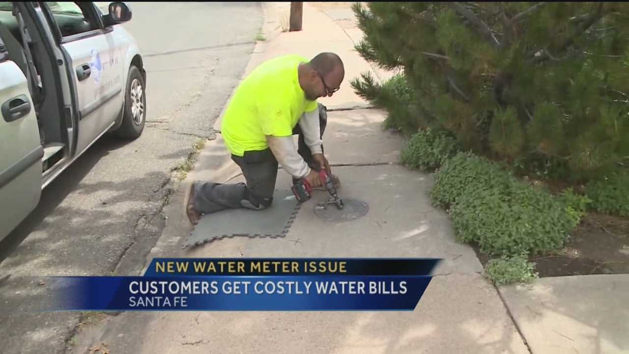 Santa Fe residents are complaining about high water bills and new, high-tech water meters could be to blame.